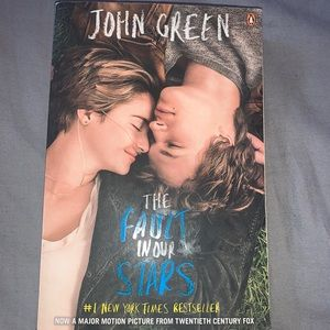 (3/$20) The fault in our stars by John green